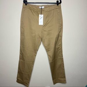 NWT HILL CITY Everday Pant Athletic Khaki 36x32